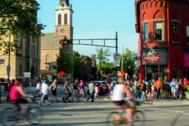 Madison bicycling